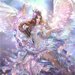 5D Diamond Painting Angel Wings Dream