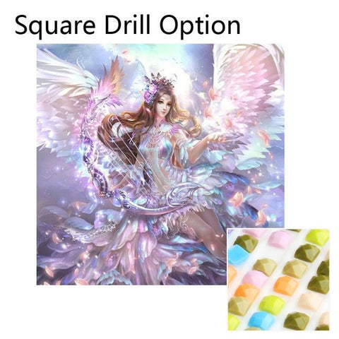 Image of 5D Diamond Painting Angel Wings Dream