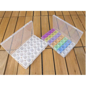 5D Diamond Painting Storage Box 28 Slots