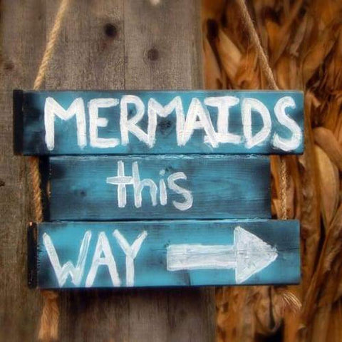 Image of 5D Diamond Painting Mermaid Sign