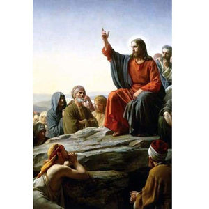 5D Diamond Painting Jesus Sermon On The Mount