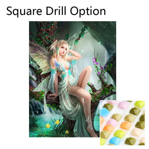Image of 5D Diamond Painting Magical Fairy