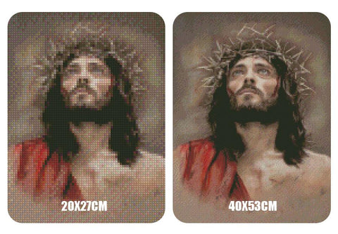 5D Diamond Painting Jesus Crowned with Thorns
