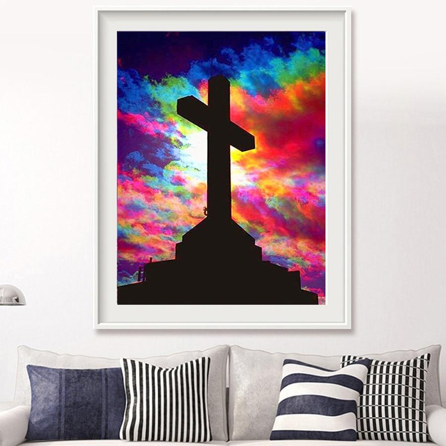 5D Diamond Painting Cross