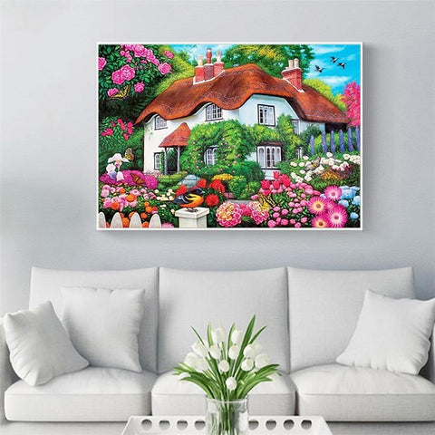 Image of 5D Diamond Painting Homie Garden Collection