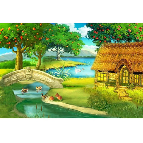 Image of 5D Diamond Painting Rural Scenery