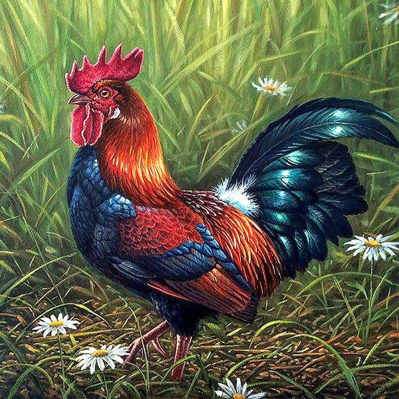 5D Diamond Painting Handsome Rooster