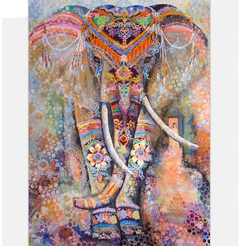 Image of 5D Diamond Painting European Elephant