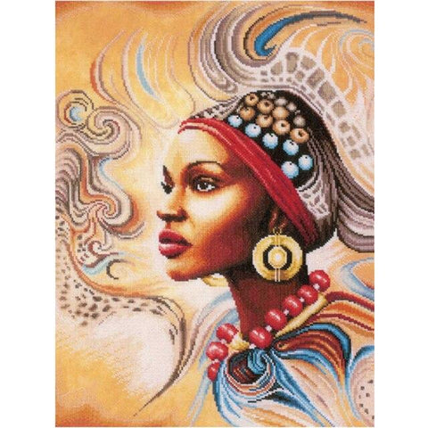 Image of 5D Diamond Painting African Woman