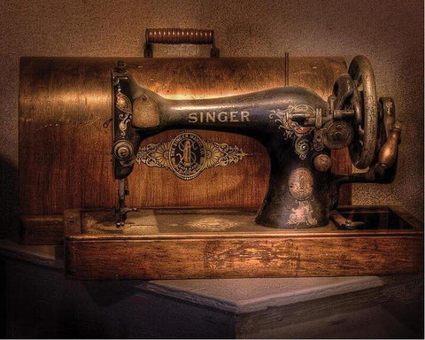5D Diamond Painting Singer Sewing Machine