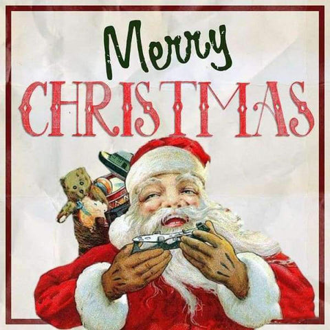 Image of 5D Diamond Painting Merry Christmas Sign
