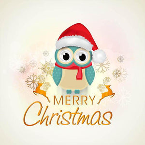 5D Diamond Painting Merry Christmas Message