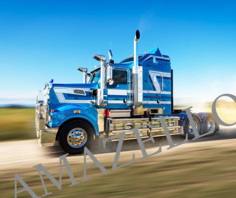 5D Diamond Painting Truck