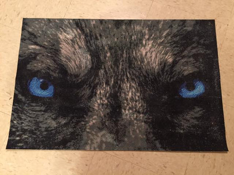 Image of 5D Diamond Painting Wolf Eyes