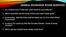 general knowledge questions and answers