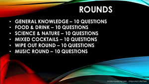 A94 Downloadable Powerpoint Pub Quiz (11 July 2020)