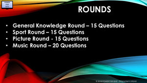 A04 V1 - Sixty Five Question Five Round Pub Quiz