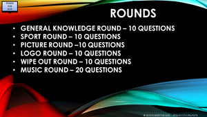 A17 V1 - Six Round Seventy Question Quiz