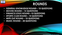 A20 V1 - Six Round Seventy Question Pub Quiz