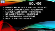 A21 V1 - Six Round sixty question pub quiz powerpoint