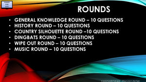 A23 V1 - Six Round Sixty Question Pub Quiz