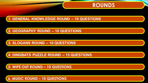 A31 V1 Six Round Sixty Five Question Quiz