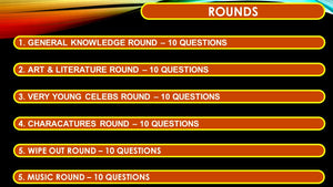 A34 Six Round Sixty Question Powerpoint Quiz