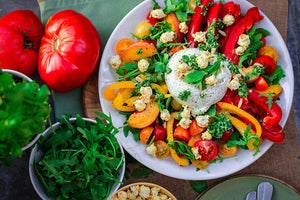 Nourishing Red Pepper Salad