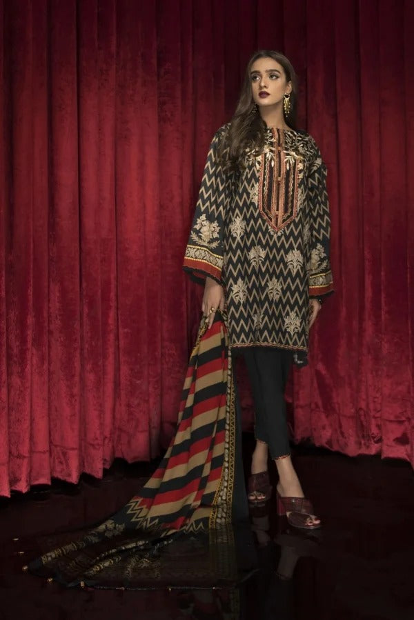 Bareeze BR-25 Embroidered Three piece Lawn Collection