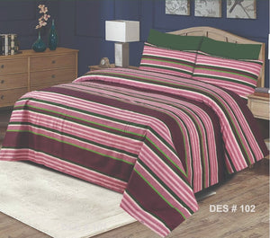 Gul Ahmed D#102 Pure Cotton PC Bedsheet