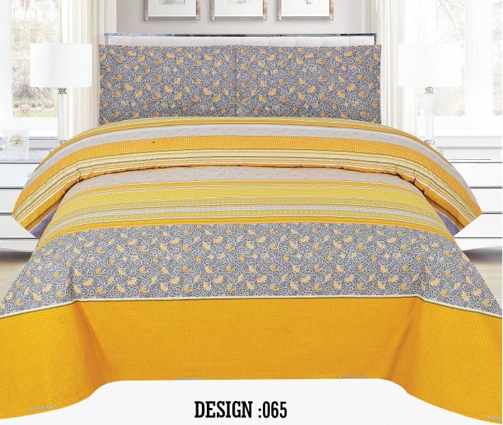 Gull Ahmed D-065 Pure Cotton PC Bedsheet