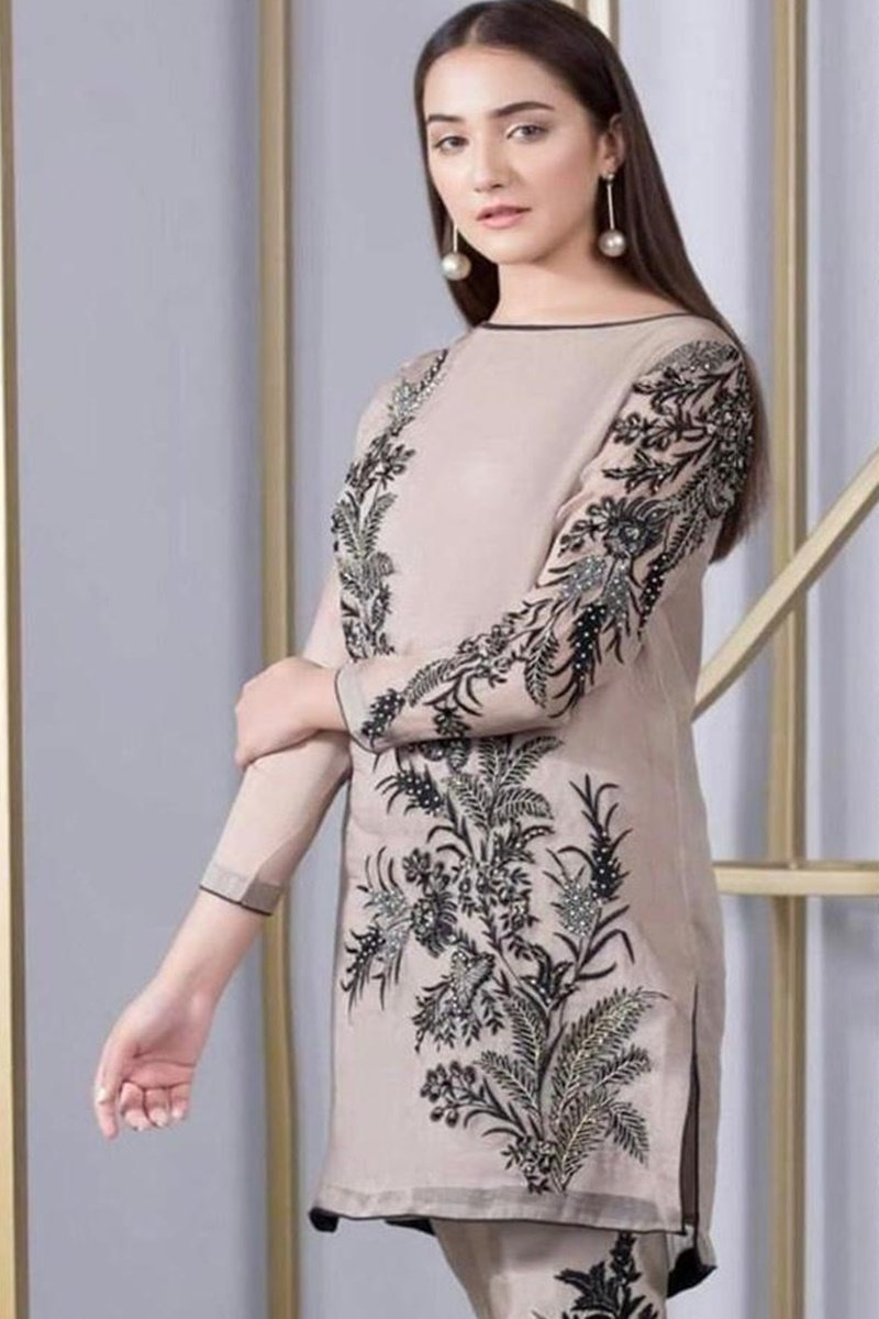 Bareeze BR-25 Khaddar Embroidered two piece Winter Collection