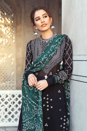 Charizma CH-202 Green Lawn three piece suit Summer Collection
