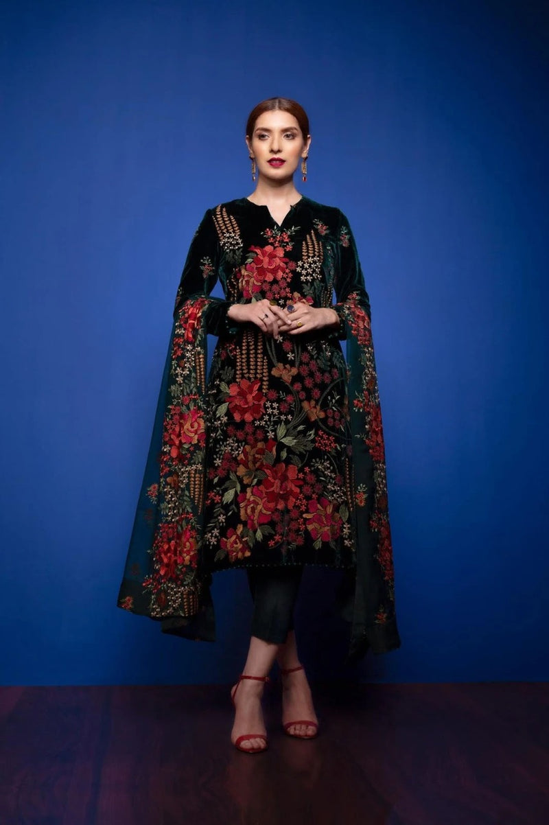Bareeze BR-Black Eid Collection Embroidered lawn Three Piece Summer Collection