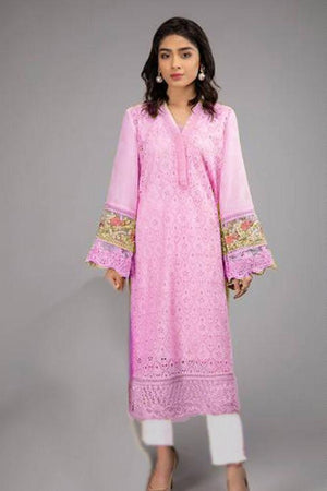 Maria.B MB-3289 ChikenKari Embroidered Two Piece Lawn Collection