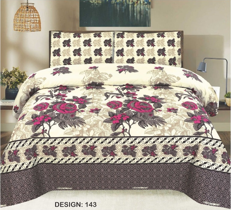 ChenOne D#143 Pure Cotton PC Bedsheet