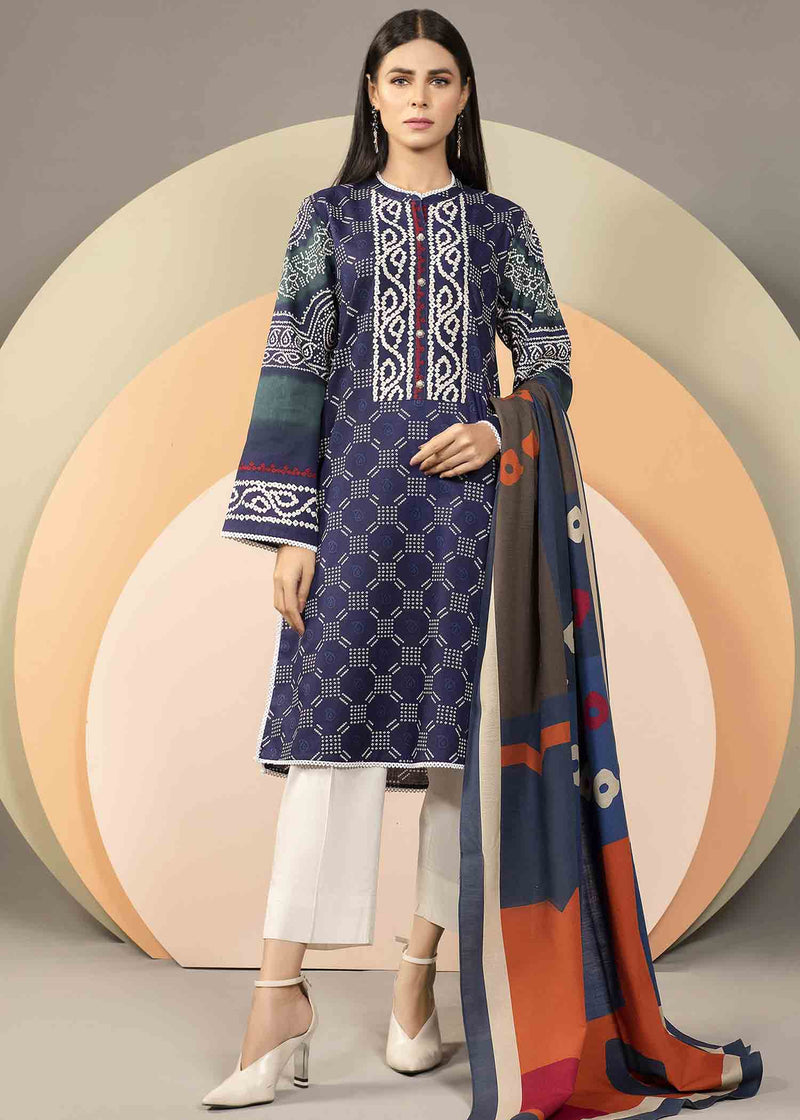 Sapphire SP-04 Embroidered Three Piece Lawn Collection
