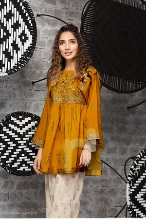 Nishat NL-10  Embroidered linen Two Piece