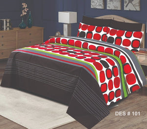 Nishat D#157 Pure Cotton PC Bedsheet