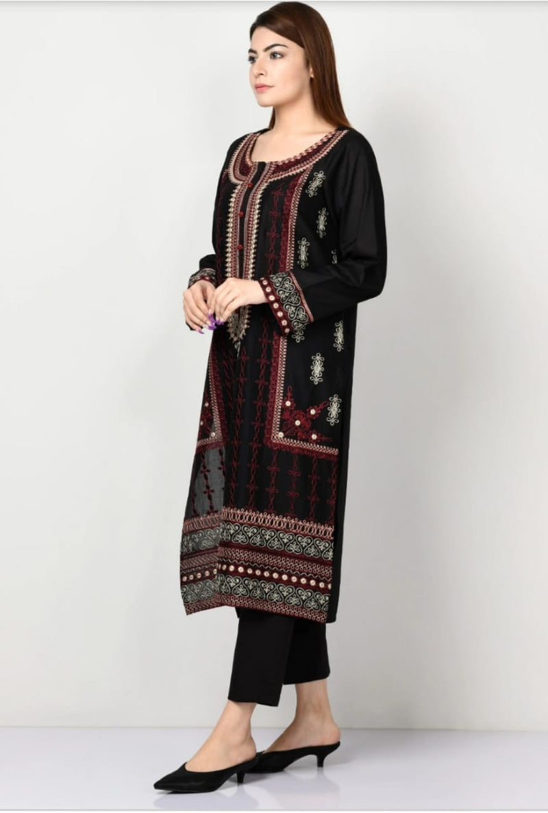 Limelight LT-228 Embroidered Linen two piece Winter Collection