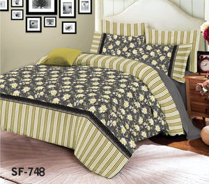 Al-karam SF-748 Pure Cotton PC Bedsheet
