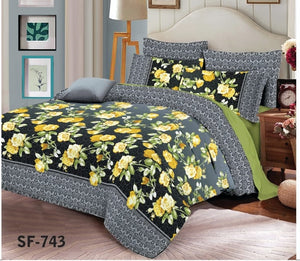 Al-karam SF-743 Pure Cotton PC Bedsheet