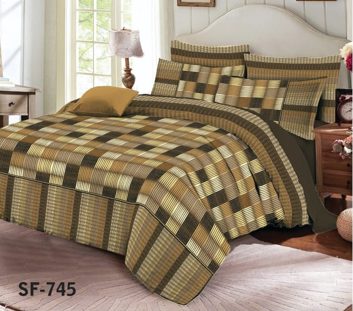 Al-karam SF-745 Pure Cotton PC Bedsheet