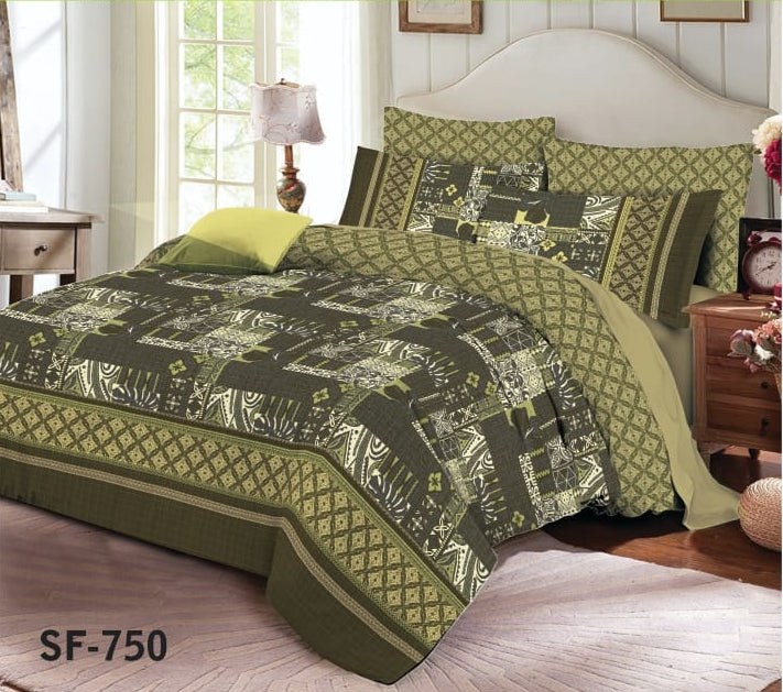 Al-karam SF-750 Pure Cotton PC Bedsheet