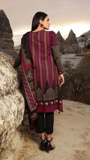 Sana Safinaz SS-171 Lawn three piece suit with Lawn duppata