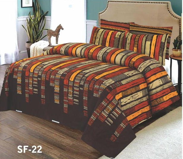 Al-karam SF-22 Pure Cotton PC Bedsheet