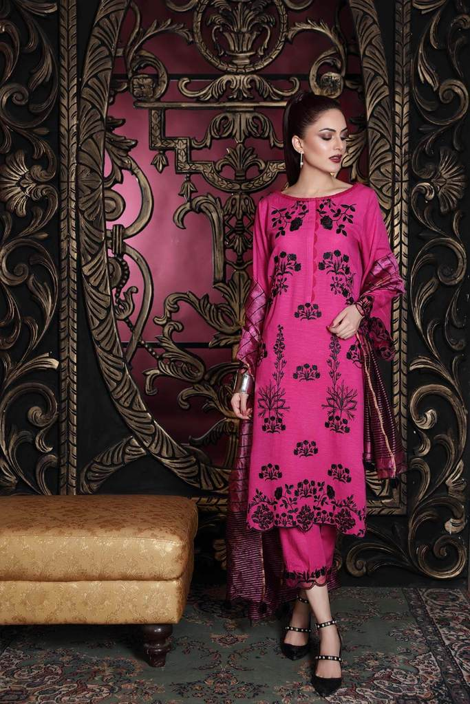 khaadi K-09 Embroidered Lawn two piece Summer Collection