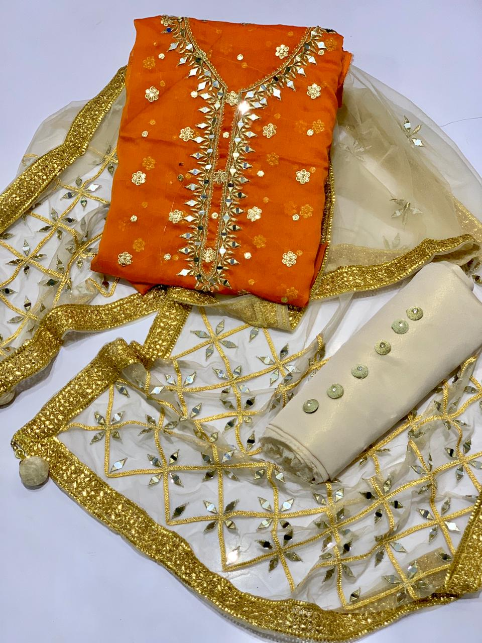 Fancy_Wedding_Collection Fcc-01 Orange