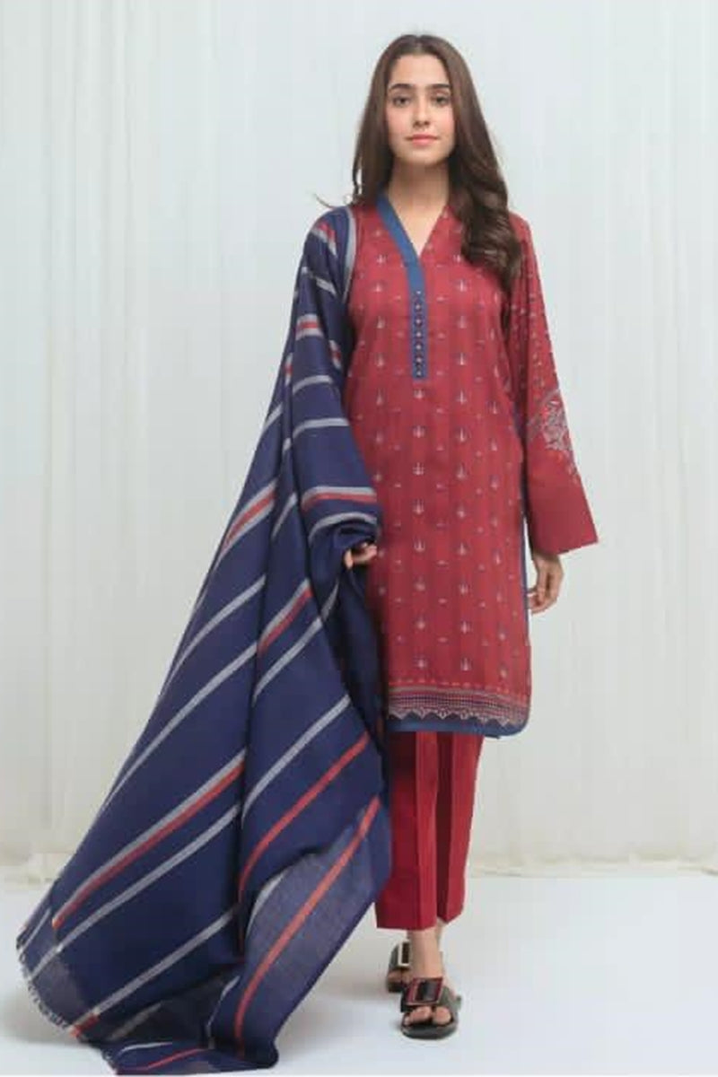 Beechtree BT-06 Printed  Three Piece Lawn Collection