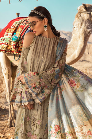 Maria B 2013B ChikenKari Eid Collection Embroidered Three Piece Lawn Collection